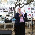 İklim Grevi Haftasında Turgut'ta kömür çukurunun kıyısından yükselen haykırış