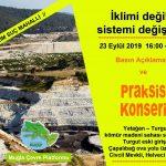 Küresel İklim Grevi etkinliklerimiz devam ediyor – 23 Eylül'de Yatağan – Turgut'tayız