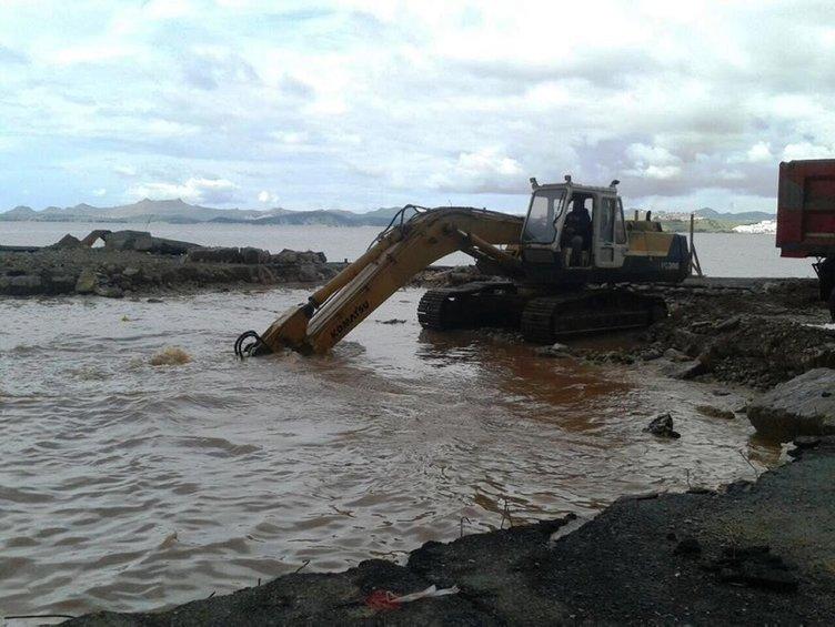 SON DAKİKA: Bodrum'da skandal görüntüler! Dalgıçlar şaşkına döndü! Suyun altına Çin Seddi...